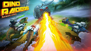 Screenshots of the Dino raiders: Jurassic crisis for Android tablet, phone.