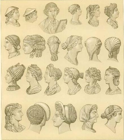 Ancient Greek Hairstyles