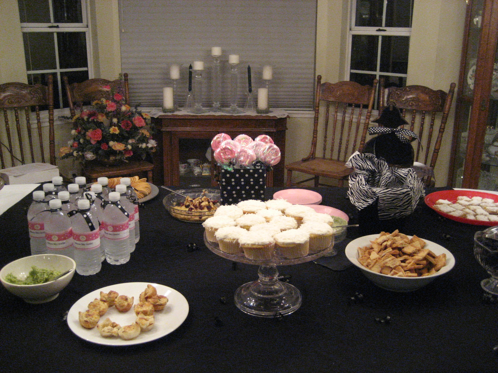 Heck Fridays Another Pink Black Baby Shower