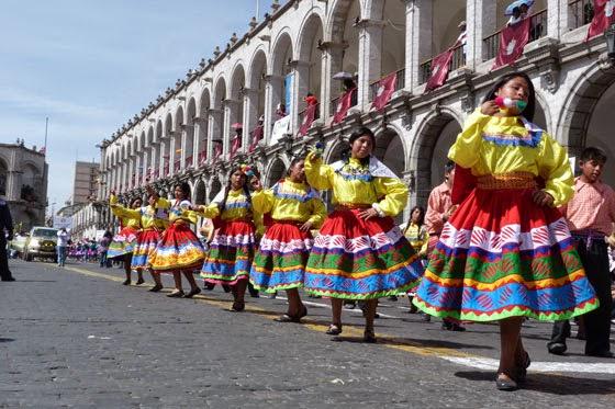 fiesta carnavales camana arequipa