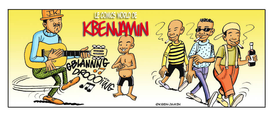 Le Comic's World de Kbenjamin