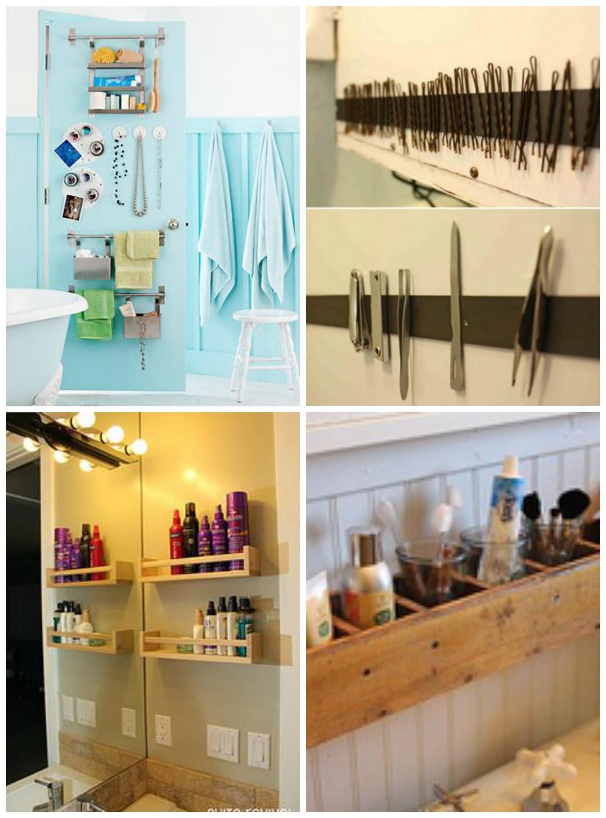 50 Dicas para Você Organizar seu Banheiro ~ Faça Você Mesmo  #B38518 1187 1600