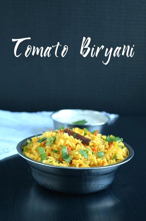 Tomato Rice in Biryani style