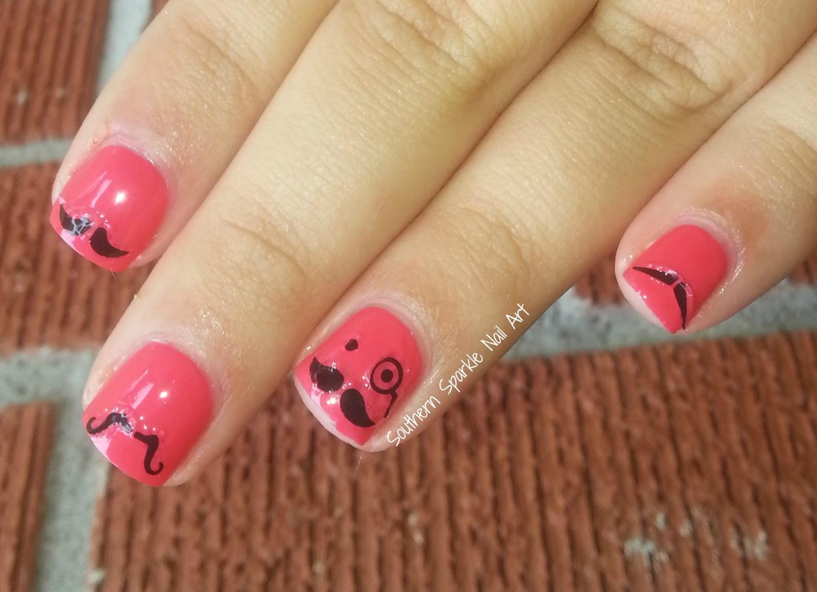 Southern Sparkle Nail Art July 2014
