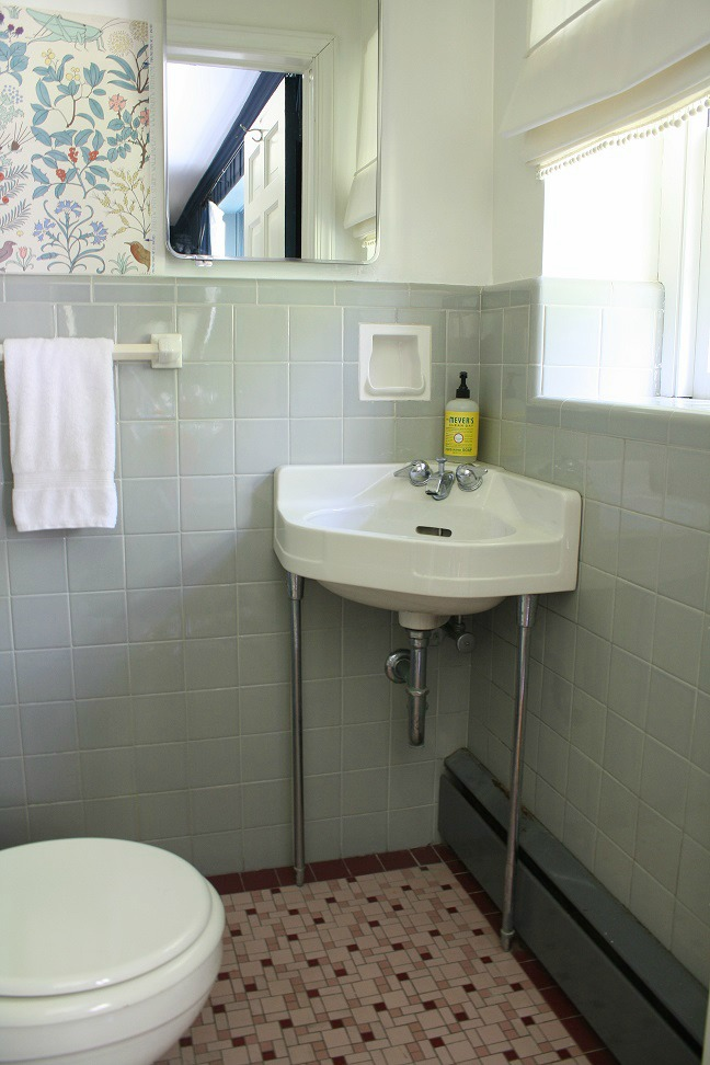Half Bath Tile Ideas
