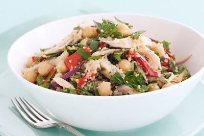 Chicken Tabouli Salad Recipe