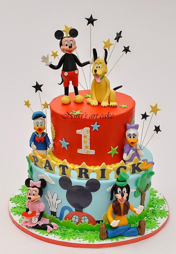 "Tort ""Mickey & friends"" pentru Patrick"