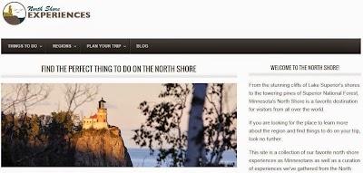 New Minnesota travel and tourism site NorthShoreExperiences.com launches