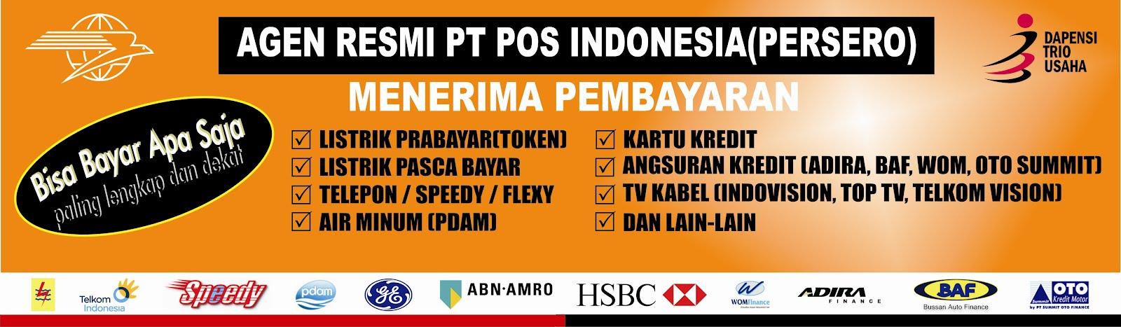 Loket Pembayaran Online Resmi POS INDONESIA