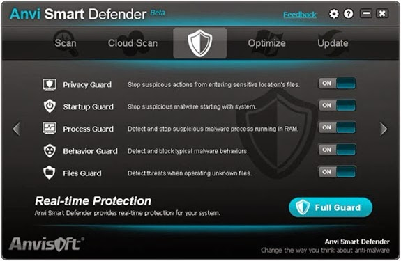 Smart defender 1 Anvi Smart Defender   Protect PC dari Malwares, Adwares dan Spywares