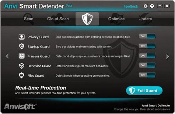 Smart defender 1 Anvi Smart Defender   Protect PC dari Malwares, Adwares dan Spywares
