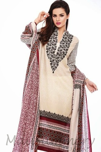 Mausummery By Huma Lawn Collection 2014