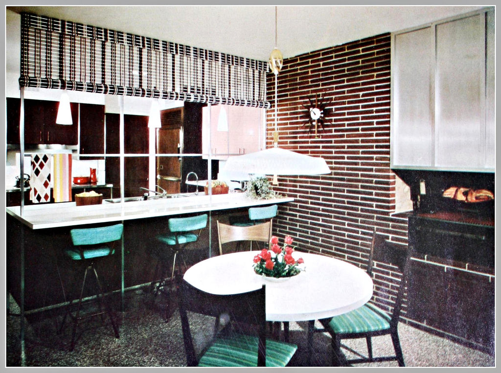 EverythingCroton: 1960, MORE MID-CENTURY MODERN KITCHEN MADNESS: HOW on bathroom with tile shower designs, bathroom with tile floor designs, kitchen room designs, bathroom with walk in closet designs, bathroom with fireplace designs, bathroom laundry room layout, bathroom with outdoor kitchen designs, bathroom with marble countertops, bathroom with jacuzzi designs,