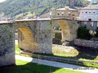 Puente Medieval Burbia, Villafranca Bierzo Leon