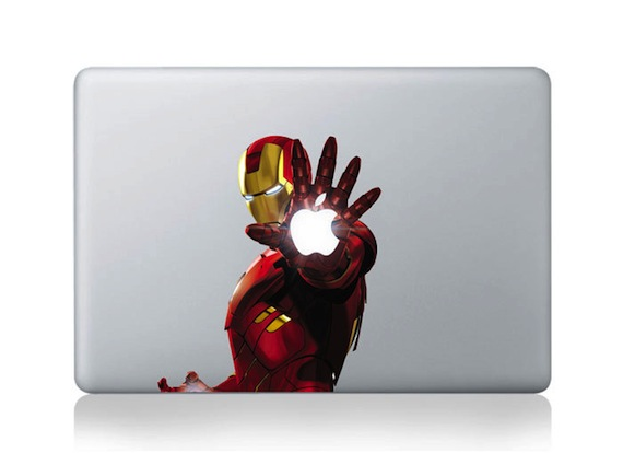 Iron Man Apple MacBook Pro, Air Sticker