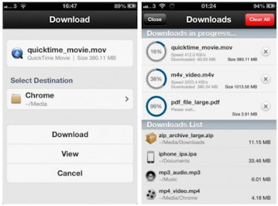 Downloader for iPhone
