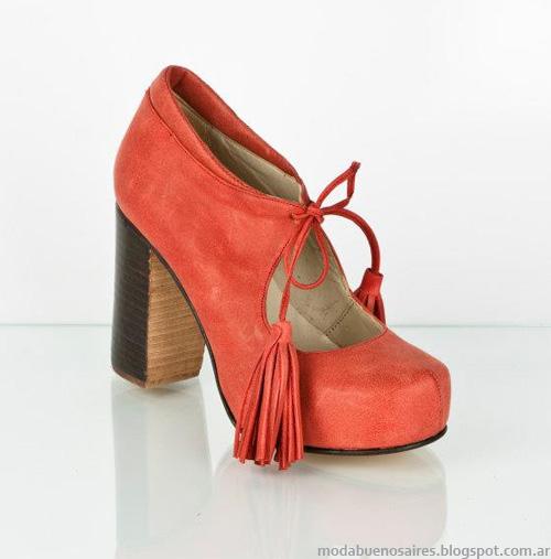 moda otoño invierno 2013 zapatos Ferraro