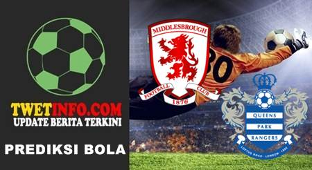 Prediksi Middlesbrough vs QPR