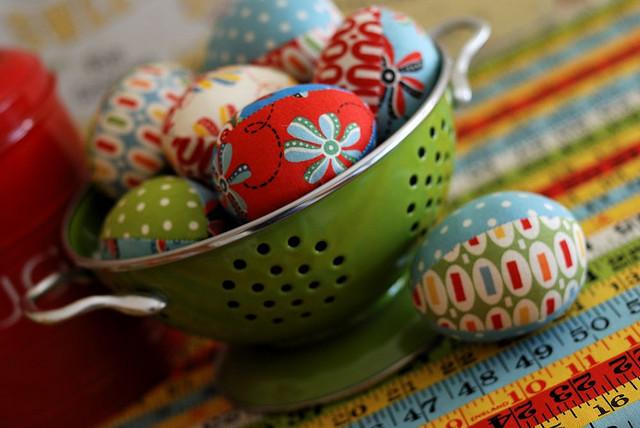 Huevos de pascua manualidades