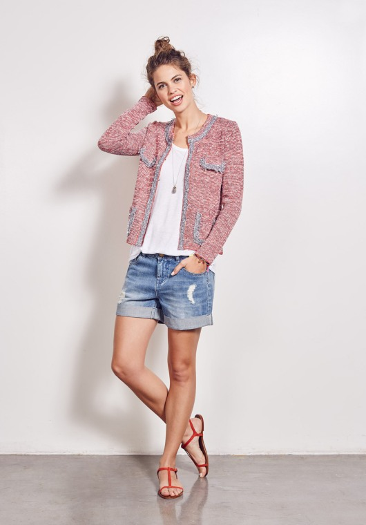 Hush Crop Knitted Jacket