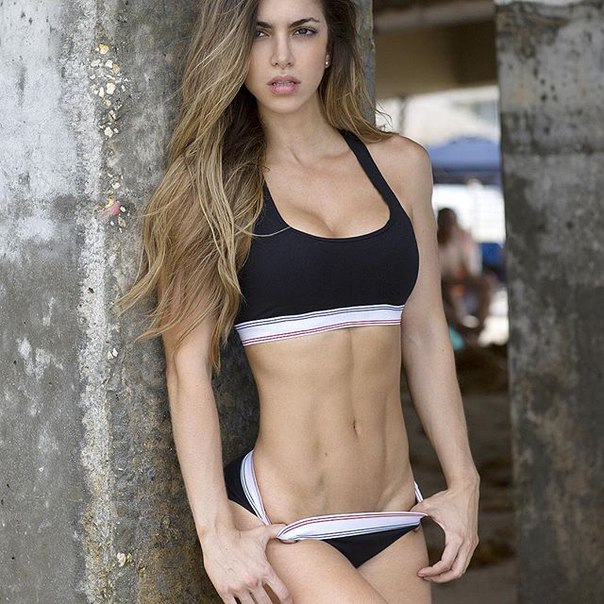 Anllela Sagra Chica Fitness Colombiana.
