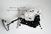 Черно-белая свадьба!