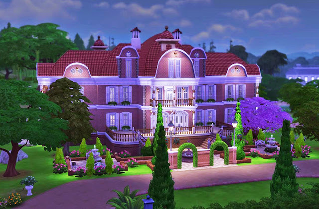 Sims 4 Brick Mansion