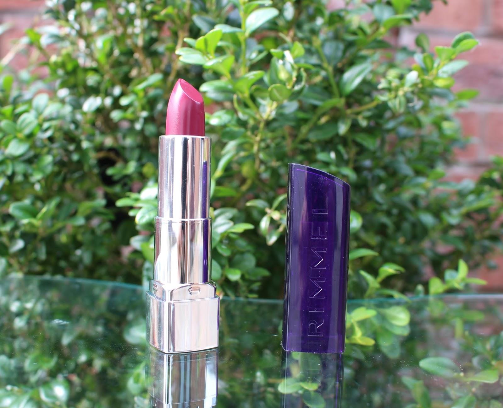 Rimmel Moisture Renew Glam Plum Fulham, Rimmel Moisture Renew lipstick reivew, Rimmel moisture renew lipstick, rimmel, a/w lipstick, lipstick, through chelsea's eyes, review,