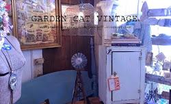 GARDEN CAT VINTAGE