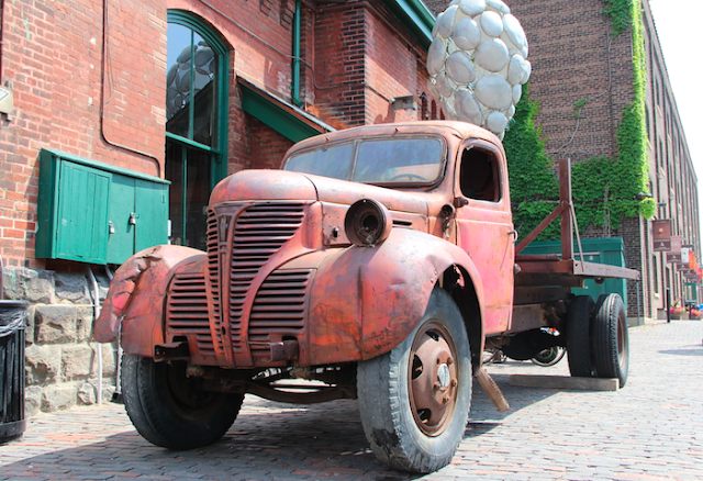 Distillery District Toronto - truck