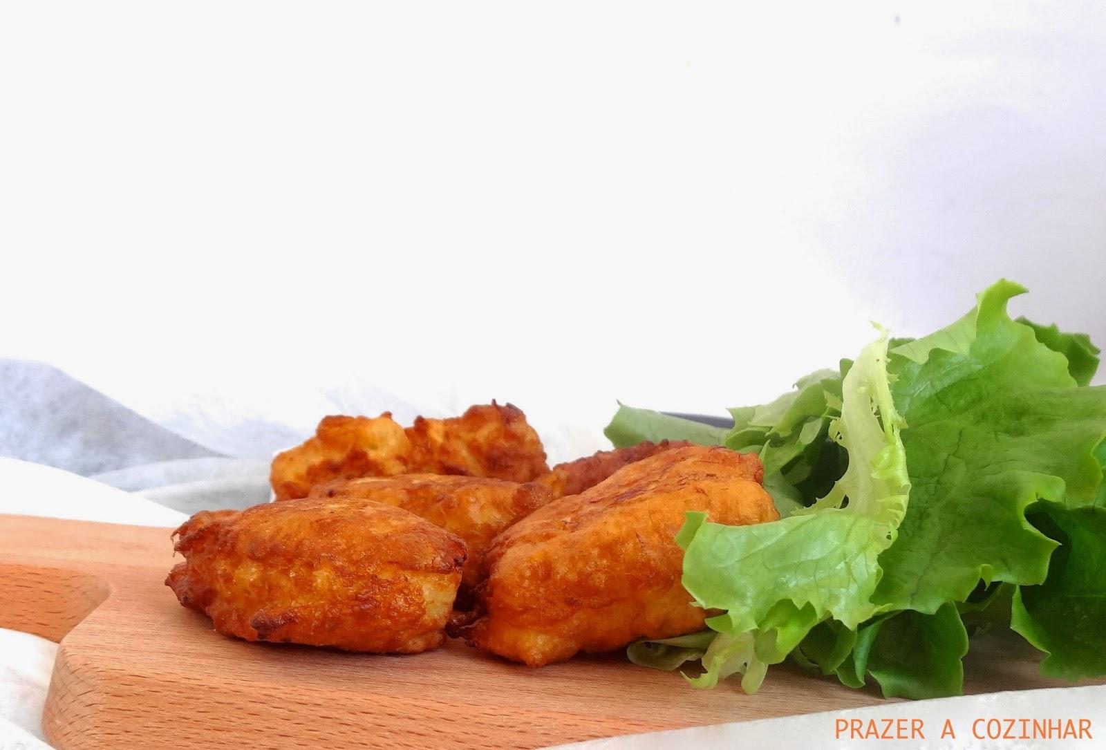 prazer a cozinhar - Pataniscas de bacalhau