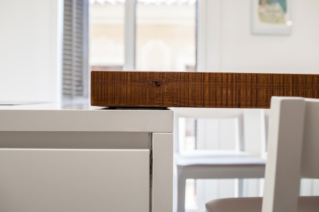 Mesas de madera un complemento ideal para las cocinas - Mesas cocina diseno ...