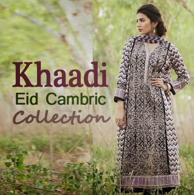 Khaadi Eid Cambric Autumn Collection 2014
