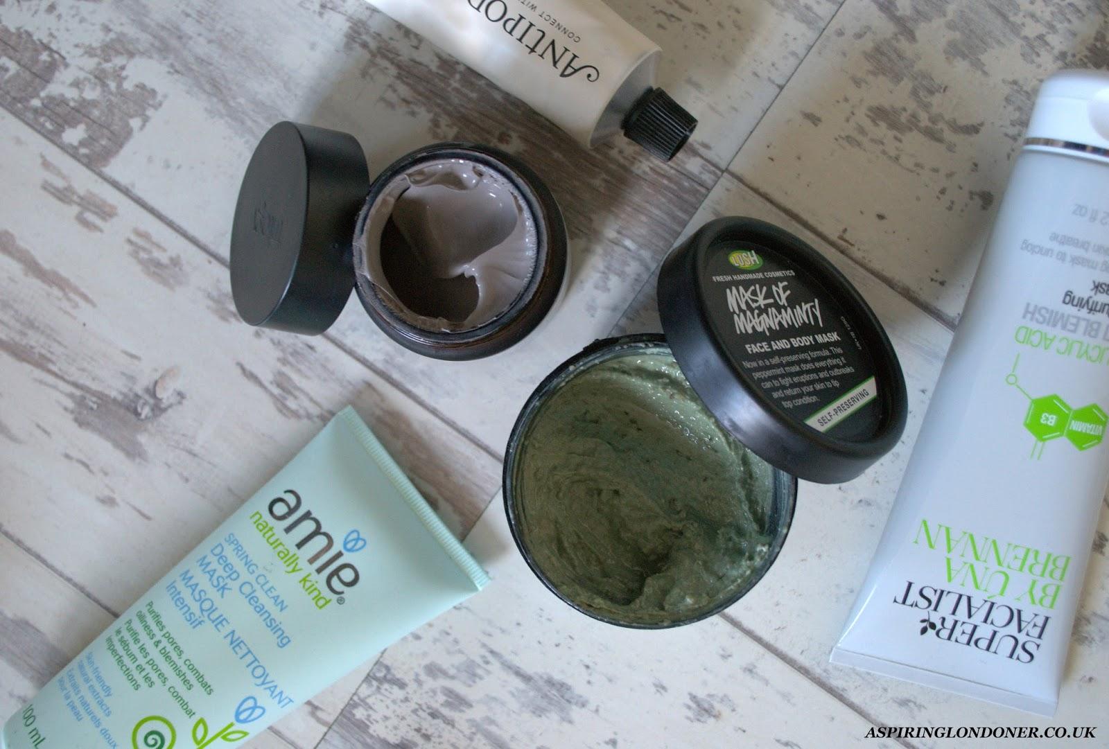 Multi-masking Anti-blemish Clarifying Cleansing Masks - Aspiring Londoner