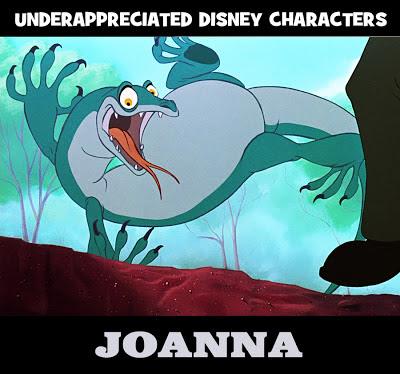 Disney Joanna Rescuers lizard goanna Underappreciated