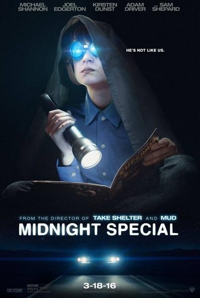 Film Midnight Special 2016 Bioskop