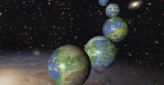 Planetas habitables están por nacer.