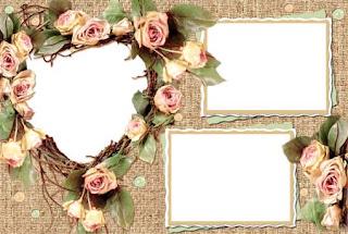 صور , اطار , برواز , حول , انحنى , جديده , تزيين , صور , شخصيه , رائعه , خشبي , ورود , مزين , حوله , زهره