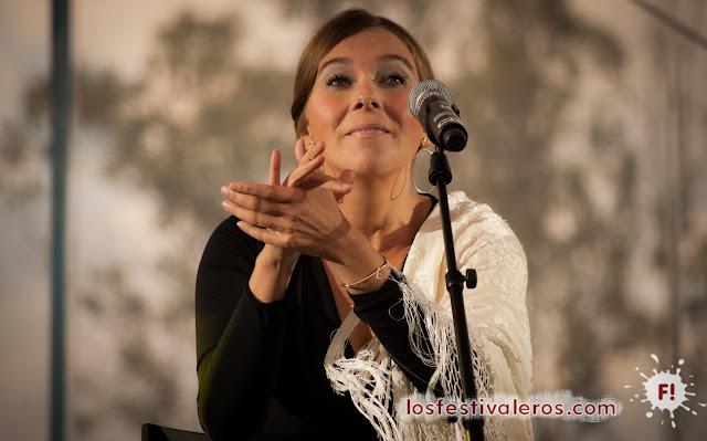 Rocío Márquez en el Festival RioLoco 2015