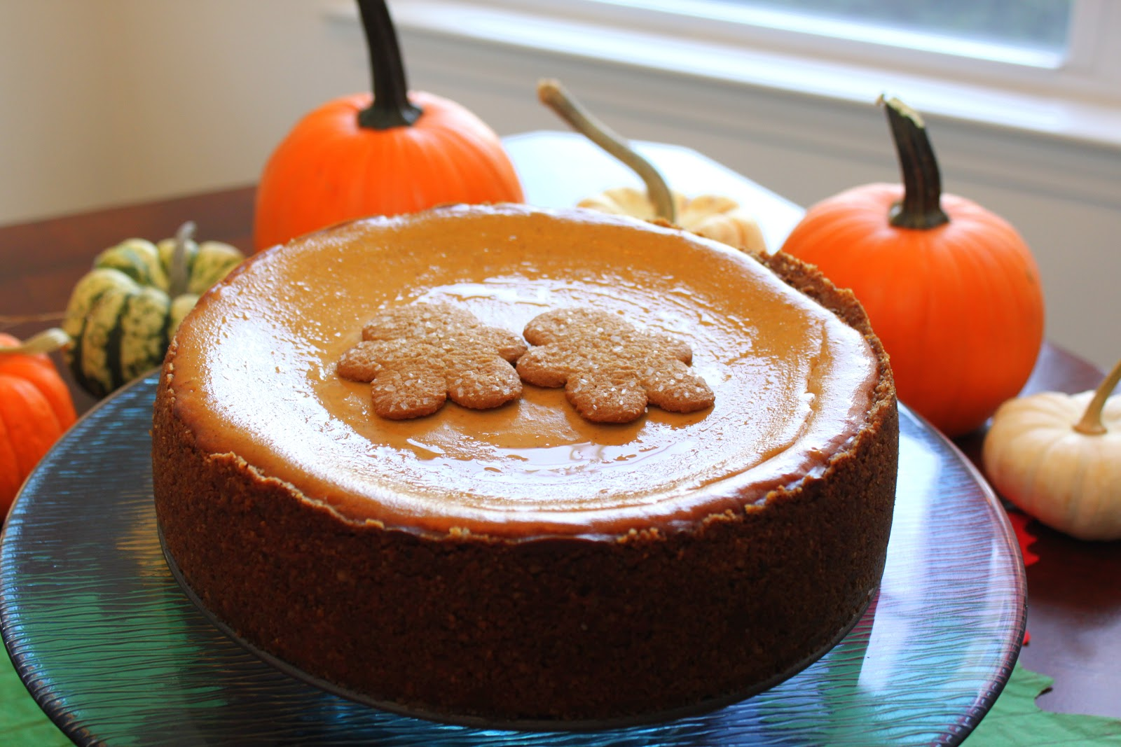 doo-dah!: Pumpkin Cheesecake with a Gingersnap Hazelnut Crust