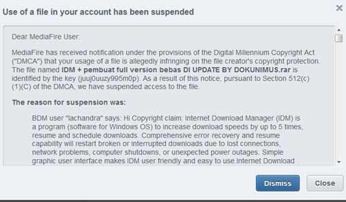 idm suspend