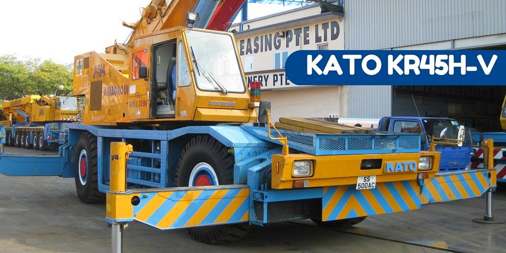 Kato 70t Rough Terrain Crane Load Chart : Kato ss kr h v rough terrain crane ton cranepedia