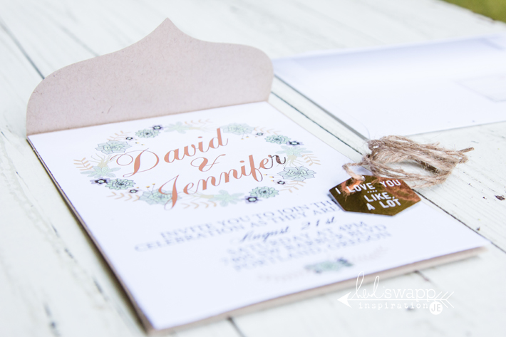 Heidi Swapp DIY Gold Foiled Wedding Invitations Create Often