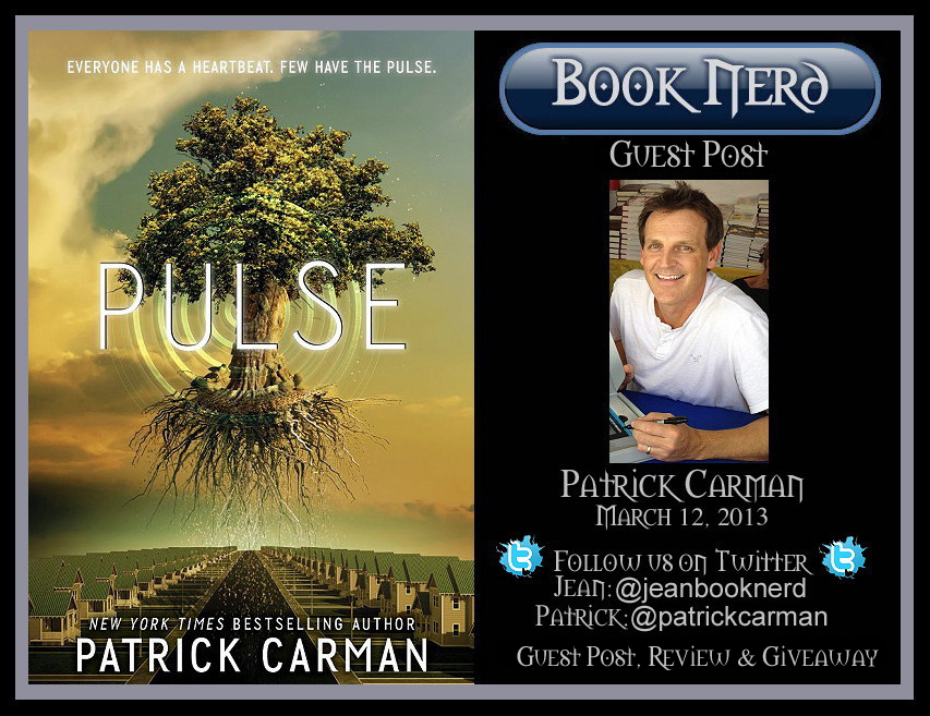 Guest Post with NYT Best Selling Author Patrick Carman ~ Jean BookNerd