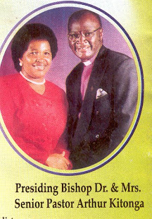 Bishop Dr. Arthur Kitonga,  the founder, president and overseer of the Redeemed Gospel Church