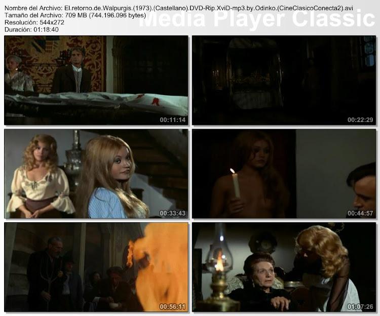 Imagenes de la película; El retorno de Walpurgis | 1973