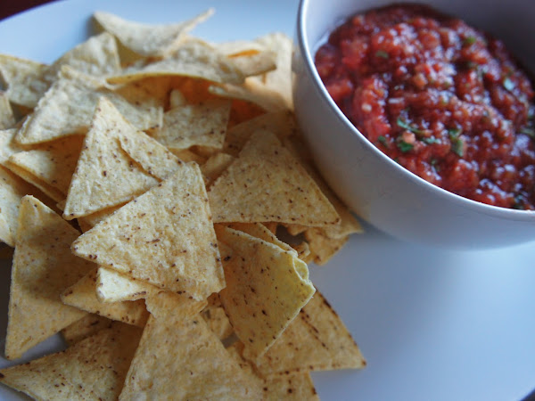 REZEPT: glutenfreie Salsa