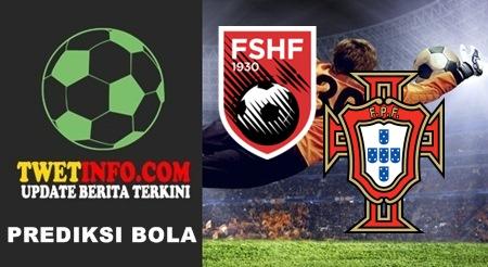 Prediksi Score Albania U21 vs Portugal U21 08-09-2015