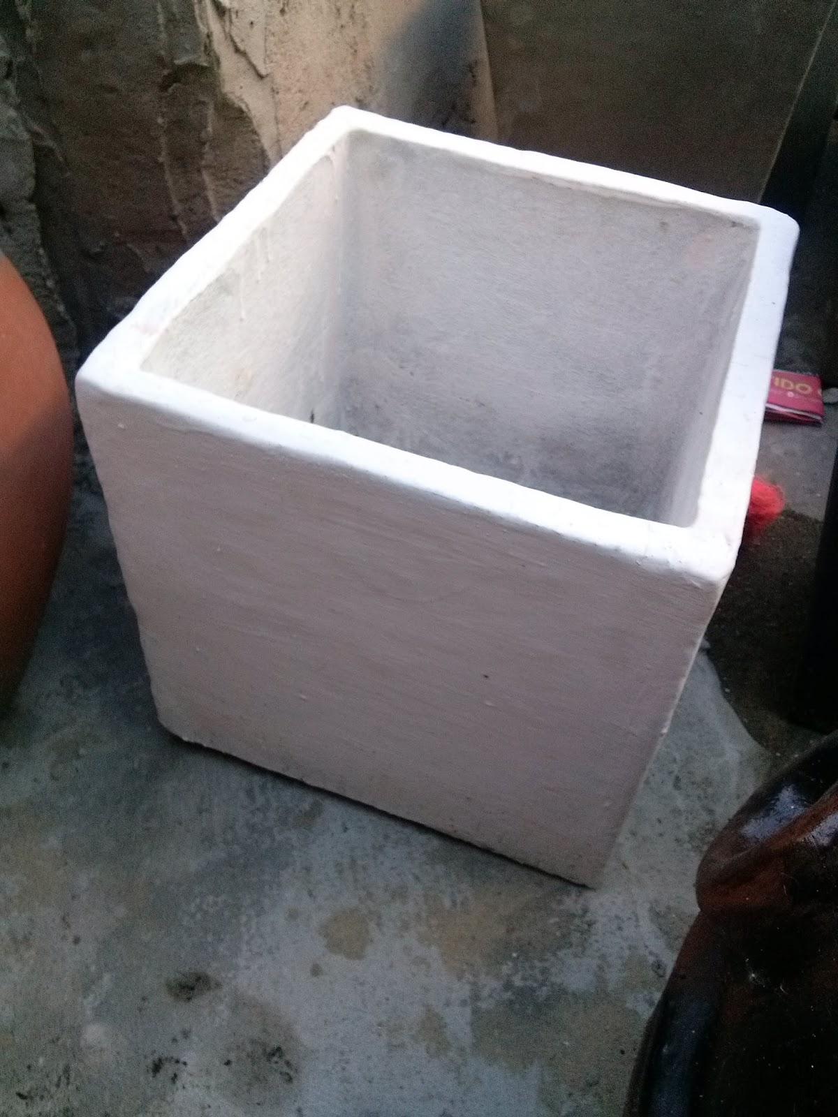 Moldes para hacer macetas de cemento macetas for Macetas de cemento