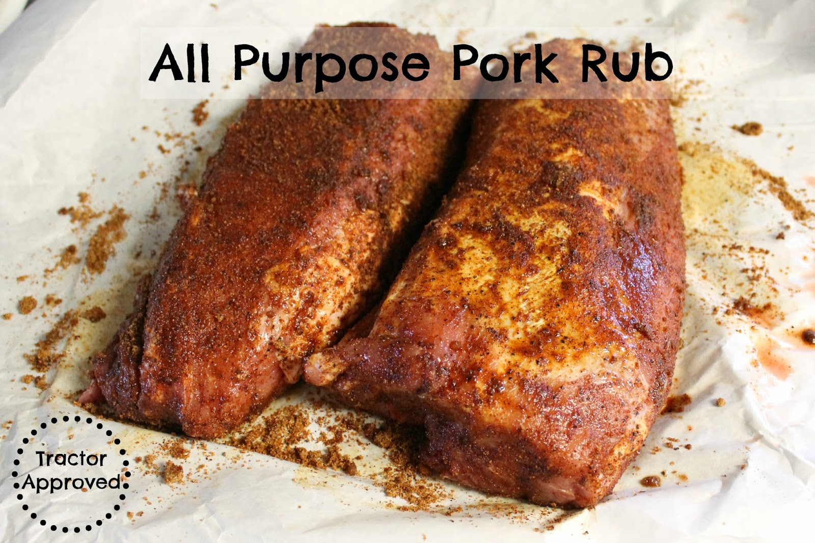 All Purpose Pork Rub Recipe